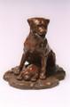 Rottweiler Bronze Sculpture by Eskandar Magzub