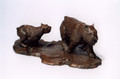 Bouvier des Flandres Bronze Sculpture by Eskandar Magzub