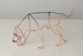 Wire Sculpture of Bloodhound by Bridget Baker