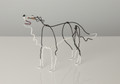 Wire Sculpture of Border Collie by Bridget Baker