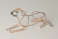 Wire Sculpture of Border Terrier by Bridget Baker