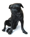 Pug Bronze Sculpture by Dido Crosby