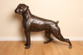 Lifesize Sculpture of Boxer Dog by Marie Ackers