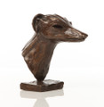 Grehound Head Study Sculpture by Tim Howard