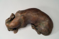 'Siesta'  Bronze Dachshund Sculpture by Joy Beckner