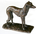 Whippet Sculpture by Henrietta Bud