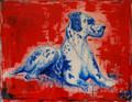 Harlequin Great Dane by Diane Haddon-Moore