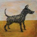 Anthony Gormley's Dog by Mychael Barratt