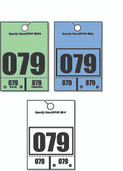 Vertical Style Service Hang Tags
