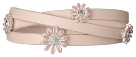 Pilgrim Marguerite Bracelet Silver Plated Rose 17131-6712