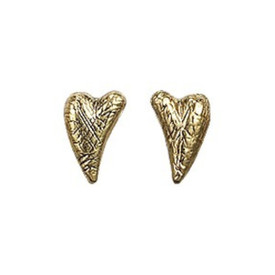 Pilgrim Valentine 16ct Gold Plate and Crystal Stud Earrings