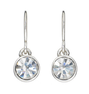 Pilgrim Drop Earrings 925 Silver Plated Crystal 651-003 Buy Pilgrim ... 42344ce30d