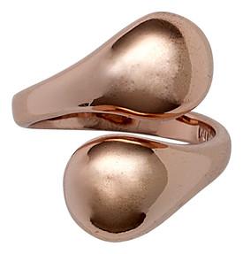 Pilgrim Mindfullness Teardrop Ring Adjustable Rose Gold Plated 16132-4004
