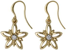 Pilgrim Divine Flower Drop Earrings Gold Plated 17133-2013