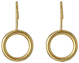 Pilgrim Stillness Drop Earrings Gold Plated 15142-2103