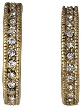 Pilgrim Sweet Stories Drop Earrings Gold Plated Crystal