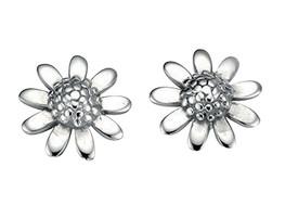 Silver Flower Stud Earring 925 Sterling Silver