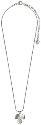 Pilgrim Pure Bliss Necklace Silver Plated 40cm 19151-6001