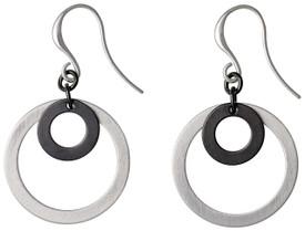 Pilgrim Simplistic Drop Earrings Silver Plated 17144-6013