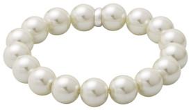 Pilgrim Pearl Bracelet Silver Plated 291446032
