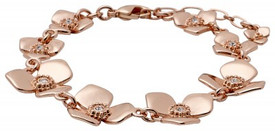 Pilgrim Pure Bliss Bracelet Rose Gold Plated 19151-4002