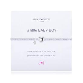 Joma A Little Baby Boy Bracelet Silver Plated