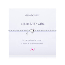 Joma A Little Baby Girl Bracelet Silver Plated