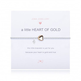 Joma A Heart Of Gold Girls Bracelet Gold Plated