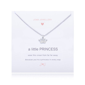 Joma A Little Princess Necklace Silver Plated