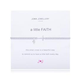 Joma A Little Faith Silver Plated  Bracelet