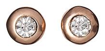 Pilgrim Rose Gold Plated Earrings