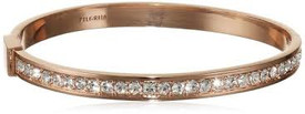 Pilgrim Bracelet Rose Gold Plated Crystal 60143-4072