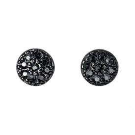 Pilgrim Ambience Stud Earrings Hematite Plated 151536103
