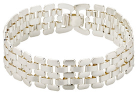 Pilgrim Stream Bracelet Silver Plated 131616002