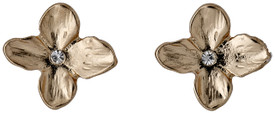 Pilgrim Precious Flower Stud Earrings Rose Gold Plated Crystal 191624003