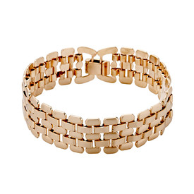 Pilgrim Stream Bracelet Rose Gold Plated 131614002