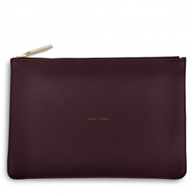 Katie Loxton 'Arm Candy' Perfect Pouch/Clutch Bag Burgundy