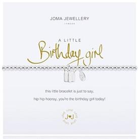 Joma A Little Birthday Girl Bracelet + Gift Bag/Tag
