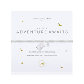 Joma A Little a little ADVENTURE AWAITS Bracelet + Gift Bag/Tag