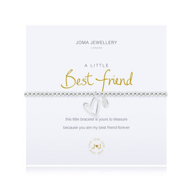 Joma A Little Best Friend Bracelet Silver Plated + Gift Bag/Tag