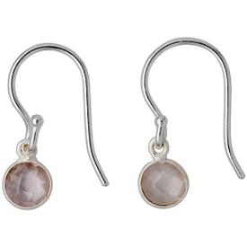 Pilgrim  Aleja Drop Earrings Silver Plated Grey 181726723