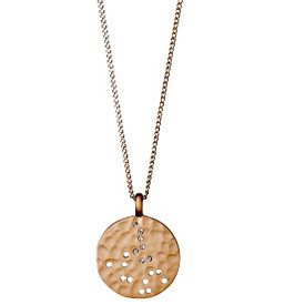 Pilgrim  Isadora Necklace Rose Gold Plated 211724111