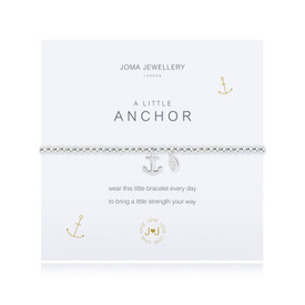 Joma Jewellery A Little Anchor Bracelet + Gift Bag/Tag