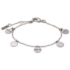 Pilgrim  Grace Bracelet Silver Plated Crystal 161726012