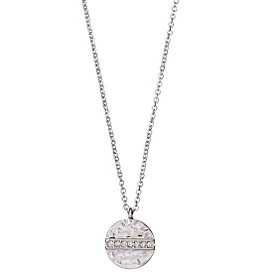 Pilgrim  Grace Necklace Silver Plated Crystal 38cm + 8cm 161726011