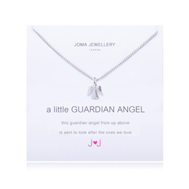 Joma A Little Guardian Angel Silver Plated Necklace