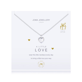 Joma A Little Love Silver Plated Necklace