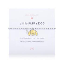 Joma Girls A LITTLE PUPPY DOG BRACELET + Gift Bag/Tag