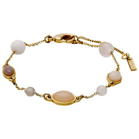 Pilgrim Morrigan Bracelet Gold  Plated Nude 201742702