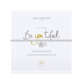 Joma Jewellery a little BE YOU TIFUL Bracelet + Gift Bag/Tag